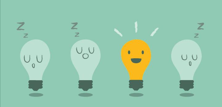 inspiração lampadas